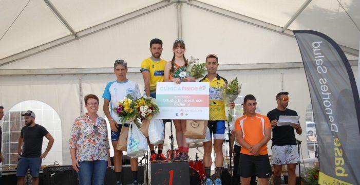 Ricardo Hernández y Victoria Soler vencen en el Campeonato de Canarias de Duatlón Cross