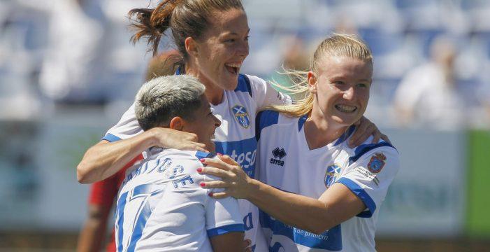 UDG Tenerife Egatesa, empate y gracias