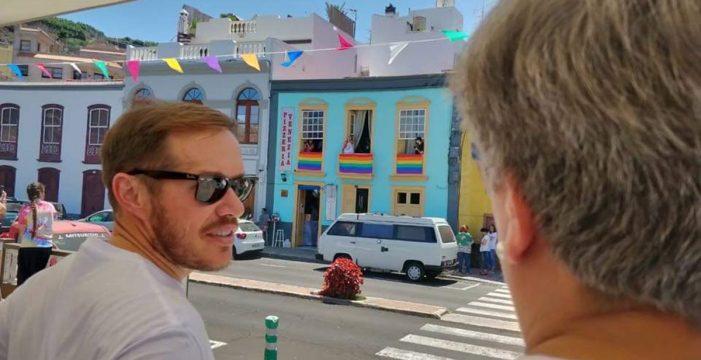 """Zapata: """"La Palma es una isla diversa y no nos van a frenar"""""""