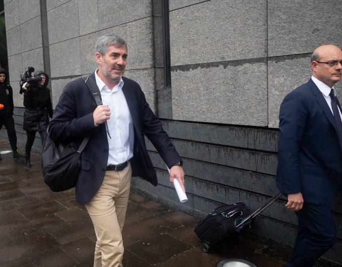 Clavijo se enfrenta desde ahora al Supremo por el caso Grúas