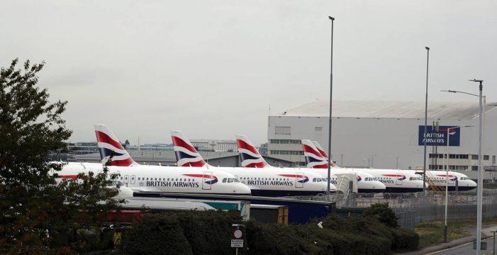 Caos en el transporte aéreo con la confluencia de varias huelgas