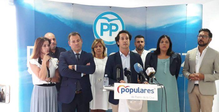 """El PP local apoya a Lope Afonso tras una sentencia judicial """"desmesurada"""""""