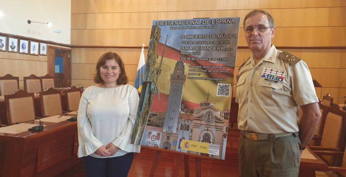 """Carlos Palacios: """"Para jurar bandera no hay un marco más bello que Candelaria"""""""