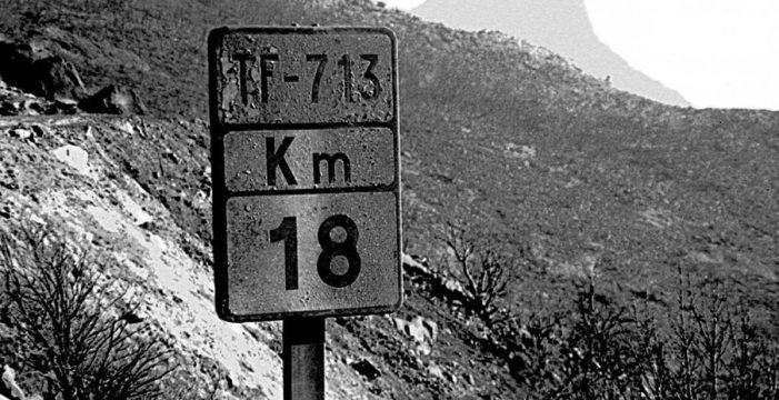Una corona para recordar el 11-S de La Gomera