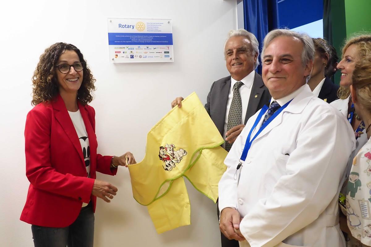 La inauguración estuvo presidida por la directora de Salud de Tenerife del SCS, Susana Cantero. S. M.