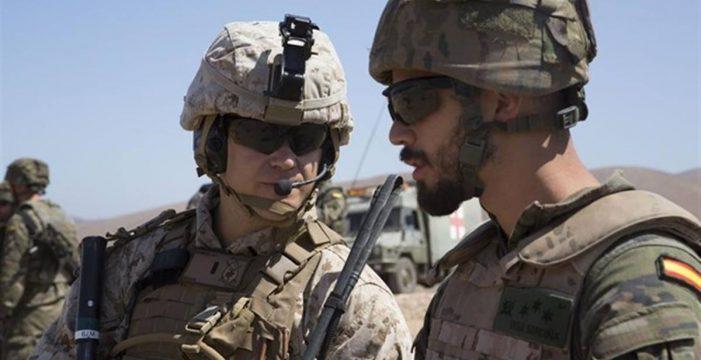 Marines del Africom (EE. UU.) se entrenan en Fuerteventura