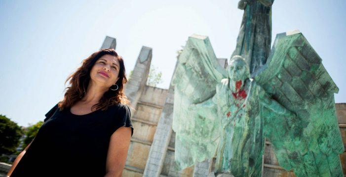 """Luisa Castro: """"Hay transporte y suelo gratis para traer a Güímar el Monumento a Franco"""""""
