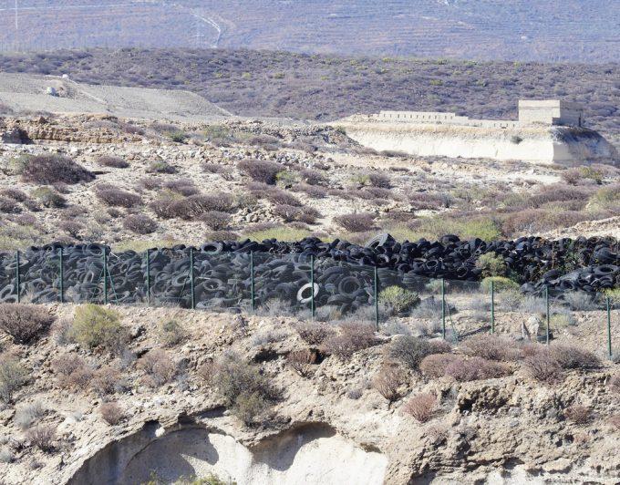 Coto al peligro medioambiental: adiós a ocho mil toneladas de neumáticos en Arico