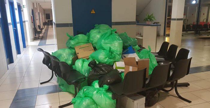 Sanidad atiende la limpieza de emergencia en los centros de salud