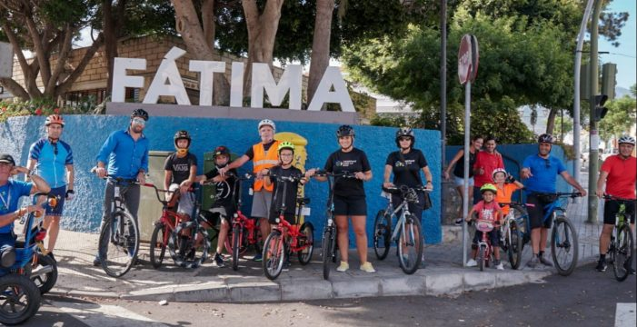 La gran pedaleada suma a Güímar a la Semana Europea de la Movilidad