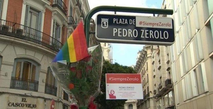 """Miguel Ángel Fernández: """"Es demagógico e ignorante que Vox quiera eliminar el nombre de Pedro Zerolo"""""""