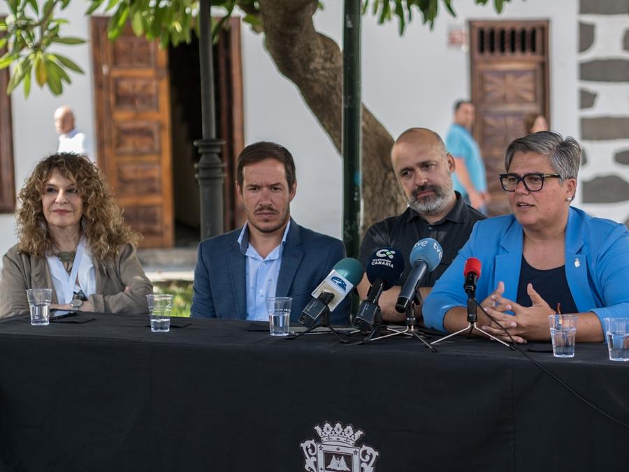 Imagen de la rueda de prensa para presentar el Festival. | JUANCHO GARCÍA