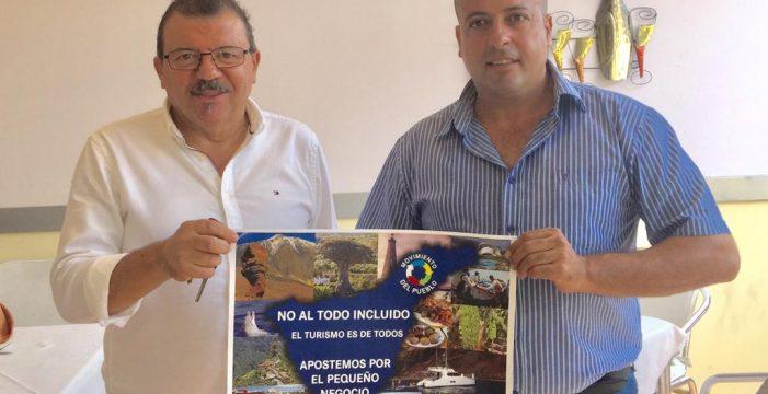 Campaña 'No al todo incluido' de un colectivo de autónomos del sur