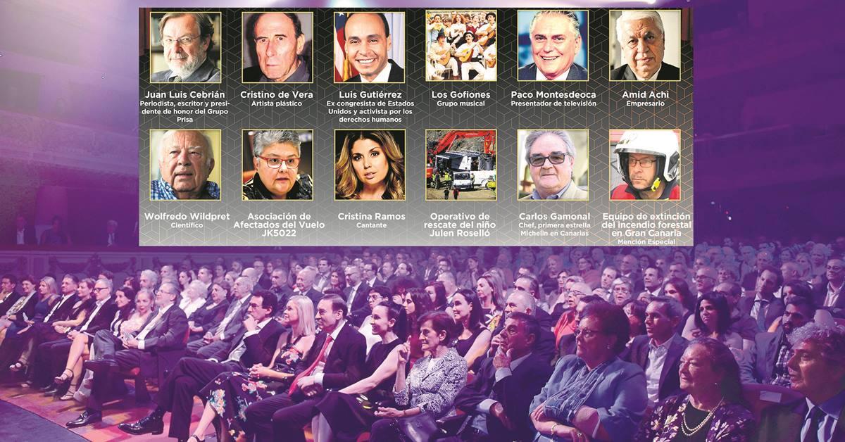 Una docena de personalidades y entidades de distintos ámbitos sociales son reconocidas por DIARIO DE AVISOS como ejemplo de profesionalidad, excelencia, solidaridad y talento. DA