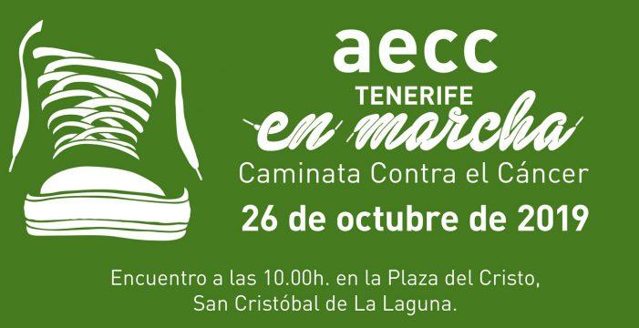 La marcha contra el cáncer recorre el sábado La Laguna