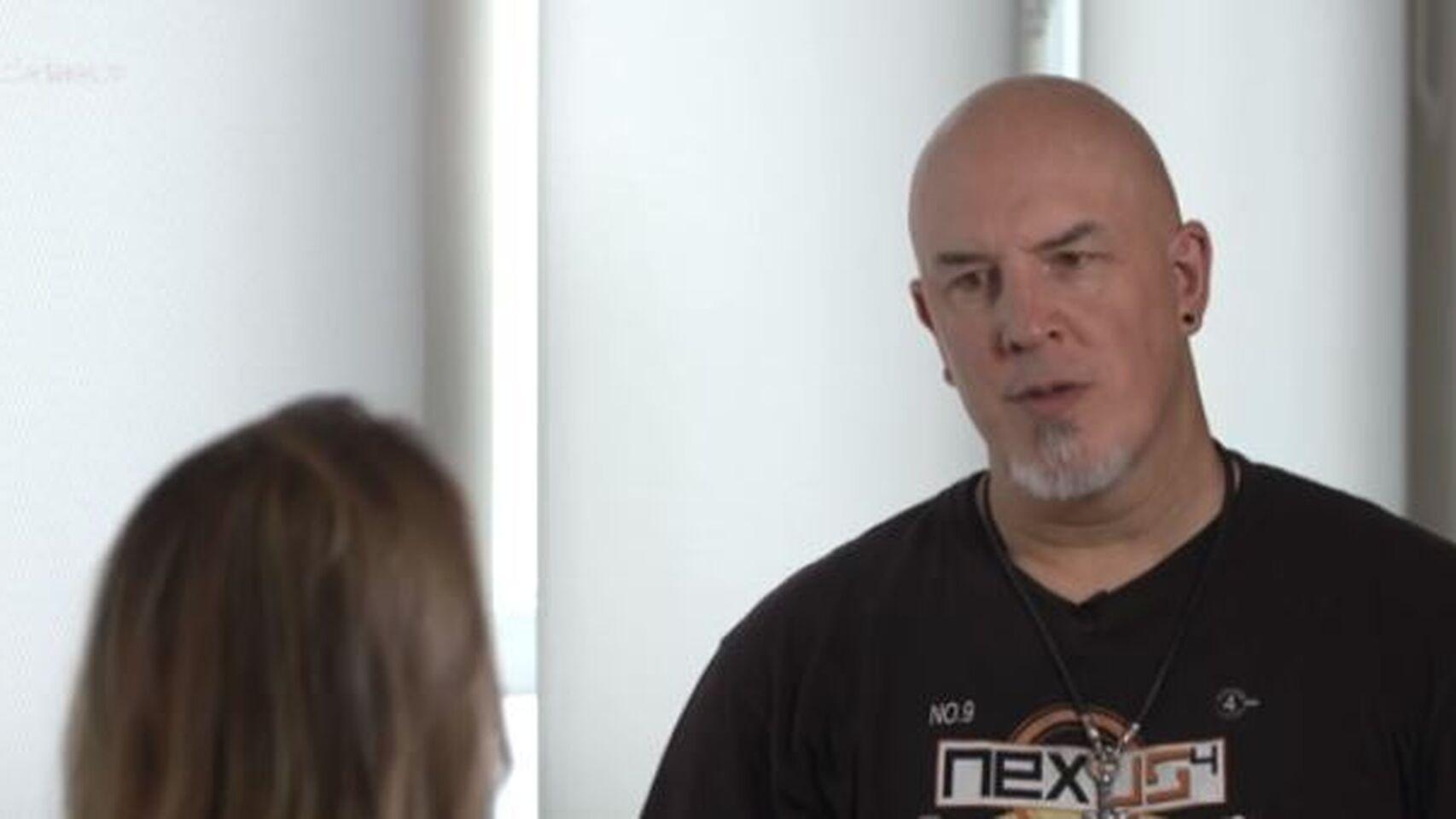 Iñaki Zubizarreta, víctima de bullying, en una entrevista