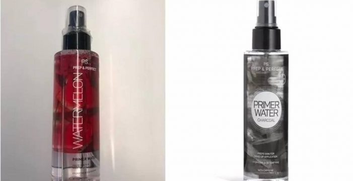 Sanidad ordena retirar dos cosméticos de Primark por estar contaminados