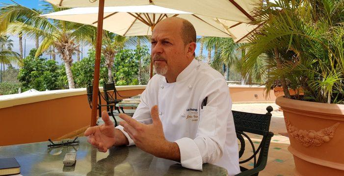 Jesús González, un chef de alta cocina en el Sur de Tenerife