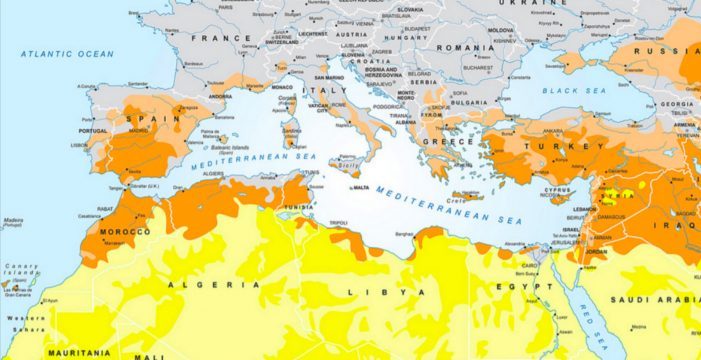 La subida del nivel del mar Mediterráneo afectará a 500 millones de personas