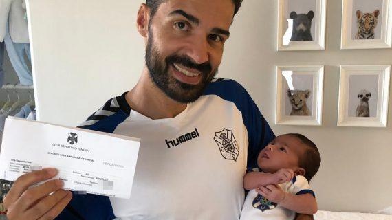Este es Leo Mesa, el accionista más joven de la historia del CD Tenerife
