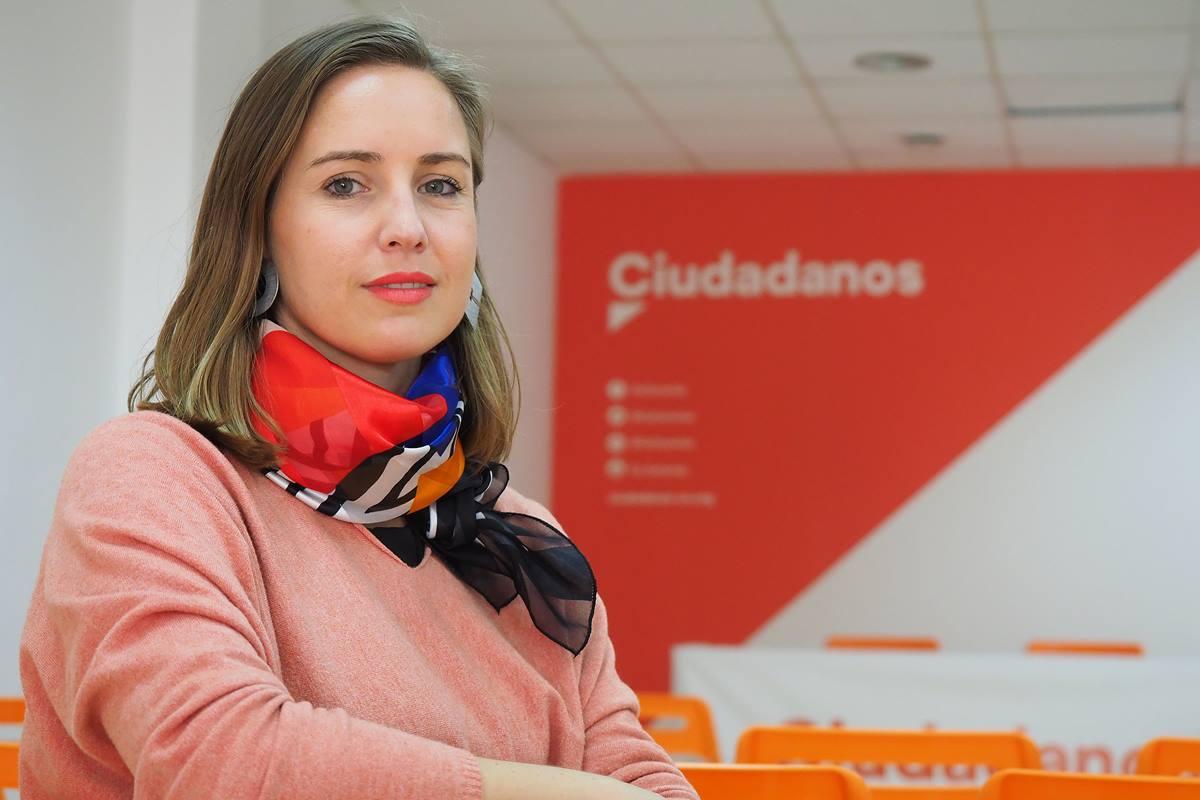 Melisa Rodríguez es una de las figuras más mediáticas de ciudadanos. F. P.