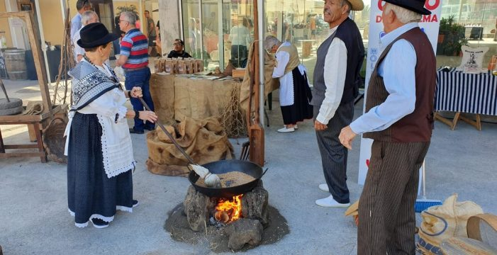 El mercadillo agrícola y artesano de Barlovento dedica una jornada al gofio