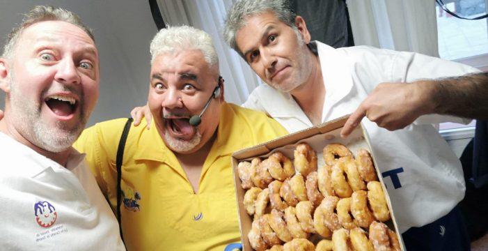 José Luis, humorista teguestero, cuenta cómo 'Los Puntales del humor' llenaron el teatro en el que se graba 'La Resistencia'