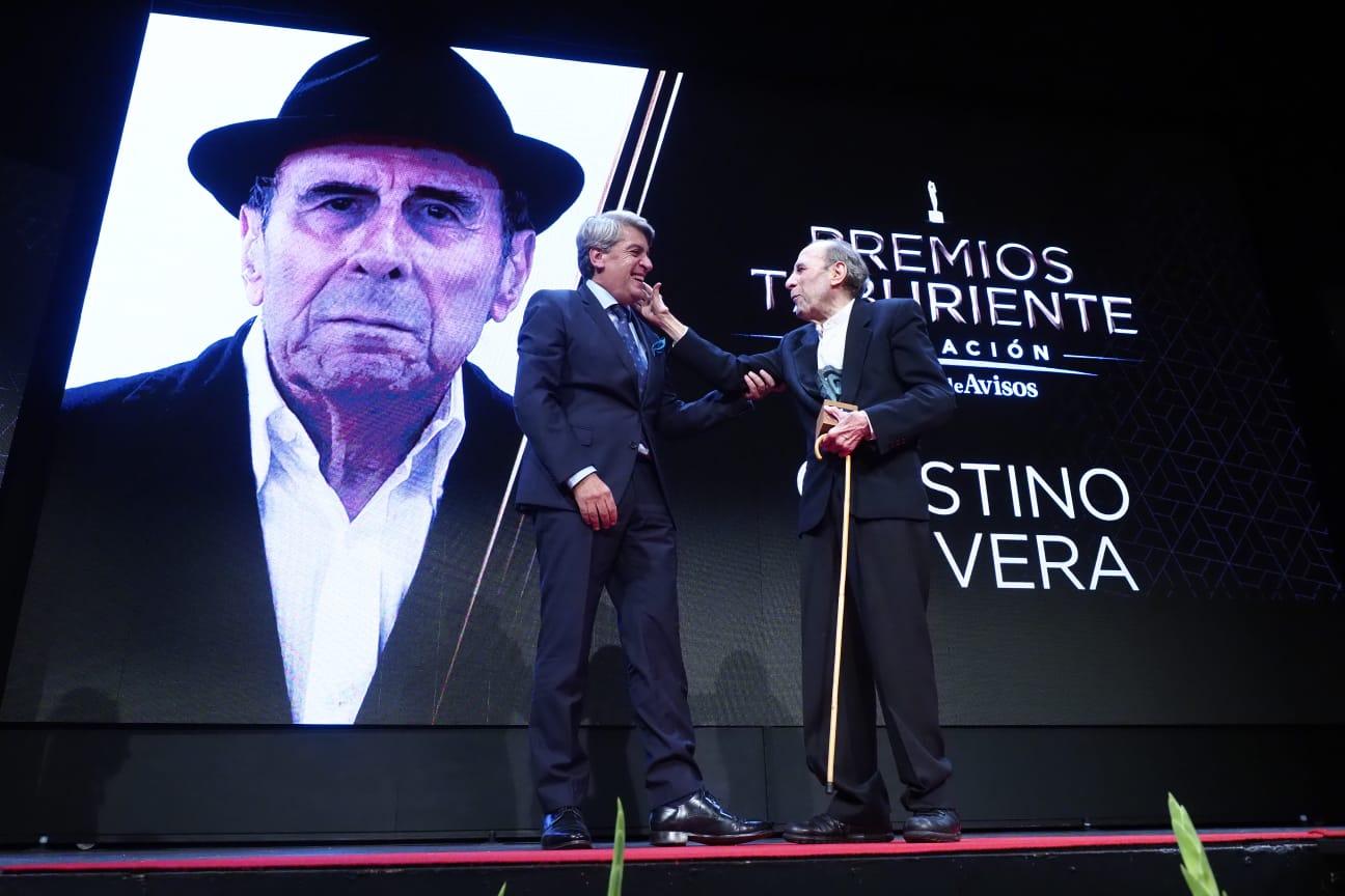 Quinto Premio Taburiente para Cristino de Vera. Sergio Méndez