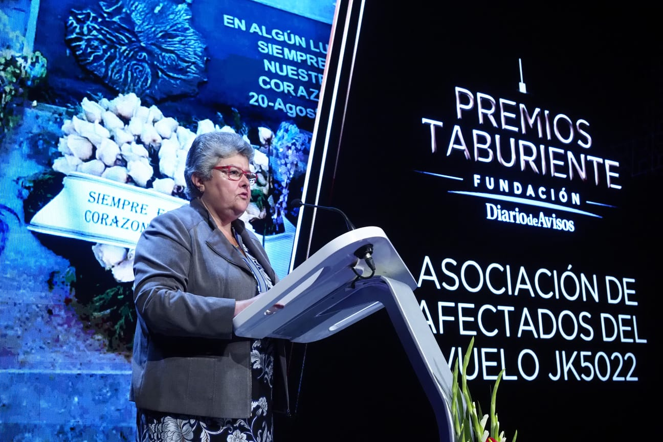 Octavo premio para la Asociación de Afectados del vuelo JK5022. Sergio Méndez