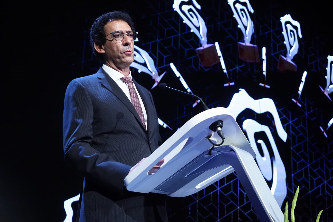 Lucas Fernández, presidente del Grupo Plató del Atlántico. Sergio Méndez