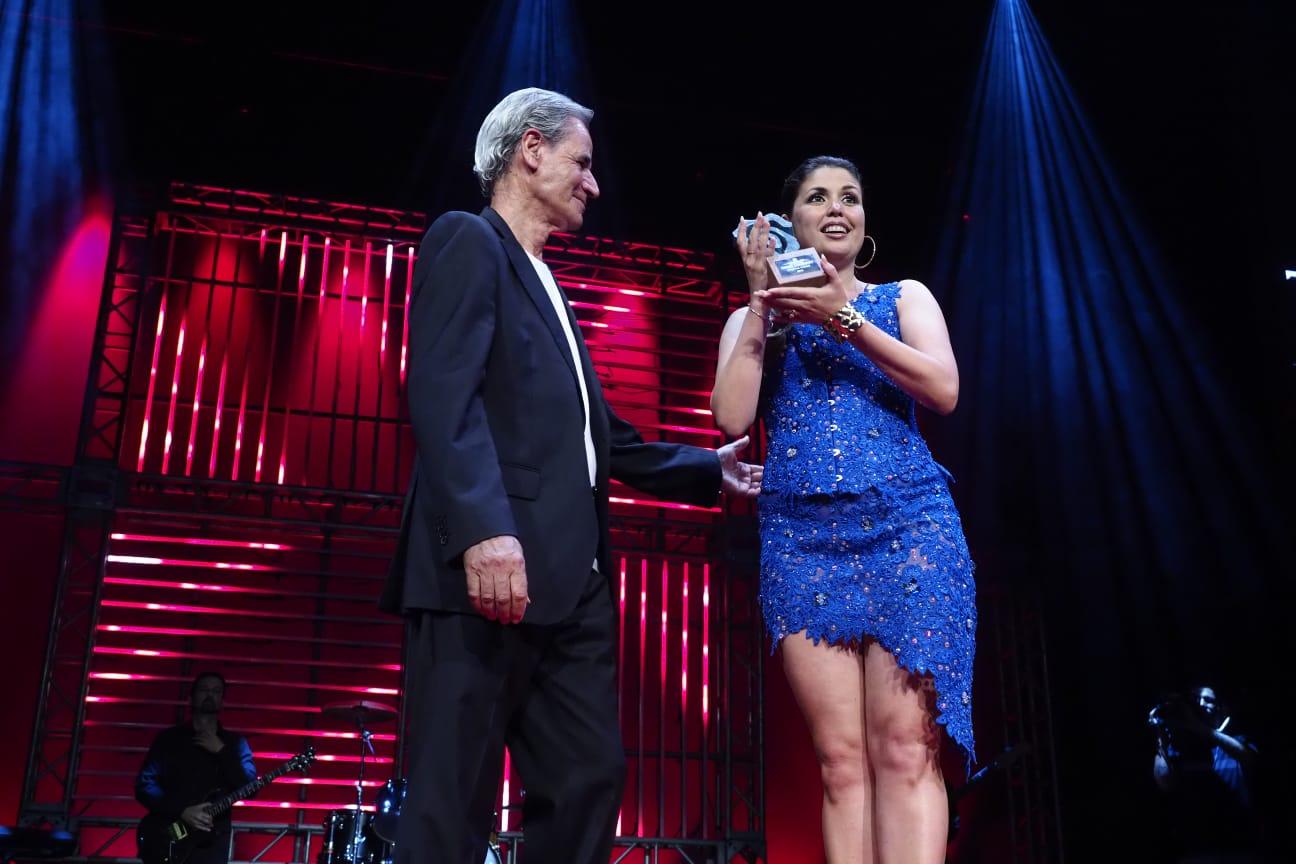 Duodécimo premio para para Cristina Ramos. Sergio Méndez