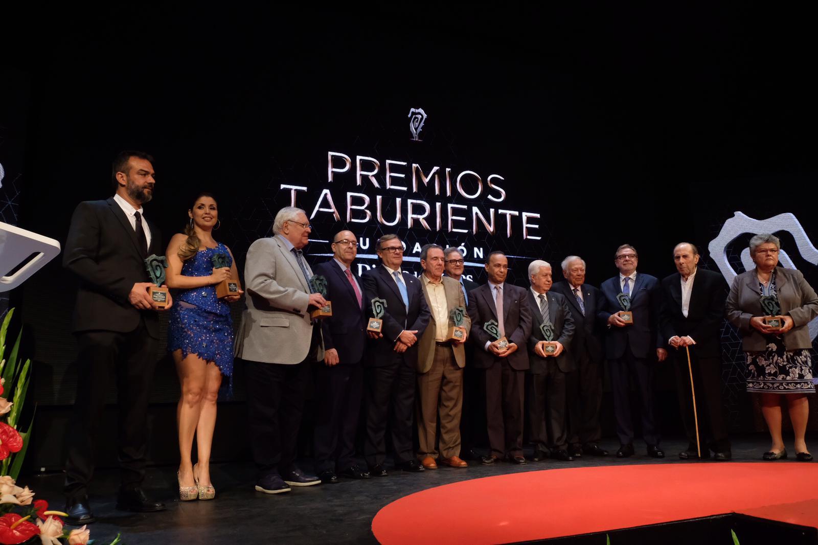 Todos los galardonados en los Premios Taburiente 2019. Fran Pallero