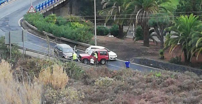 El martes lluvioso deja un nuevo accidente en Tenerife