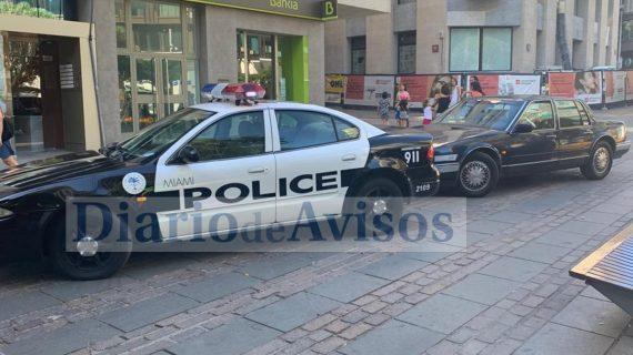La Policía de Miami 'patrulla' el centro de Santa Cruz de Tenerife