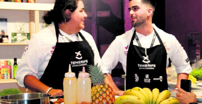 Los productos y los vinos de Tenerife seducen en San Sebastian Gastronomika