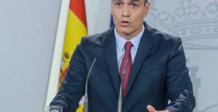 """Sánchez exige a Torra que condene """"sin excusas"""" el uso de la violencia en Cataluña"""
