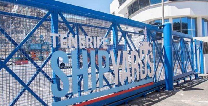 Tenerife Shipyards celebra que los trámites para traer el dique flotante vayan a buen ritmo