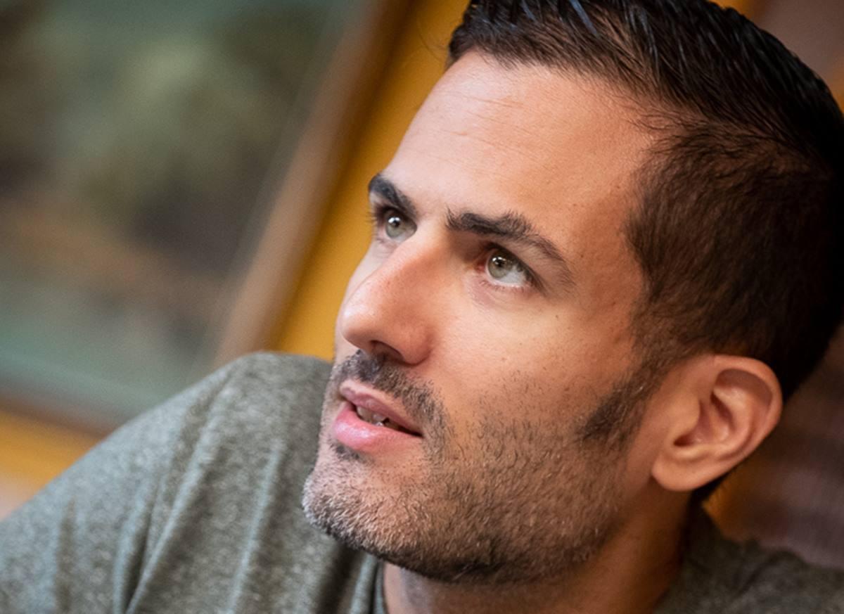 David González subraya la importancia de estudiar siempre, tener humildad y empatizar con los músicos. Fran Pallero