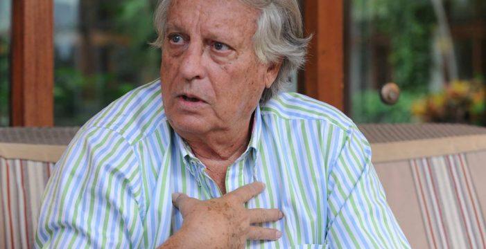"""Alberto Vázquez Figueroa: """"El apagón de Tenerife se hubiera evitado con mi proyecto"""""""