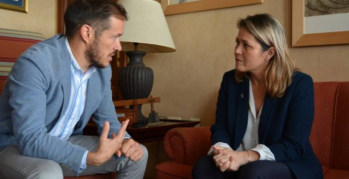 Vanoostende plantea que el Gobierno regional entre en el Consejo Insular de Aguas