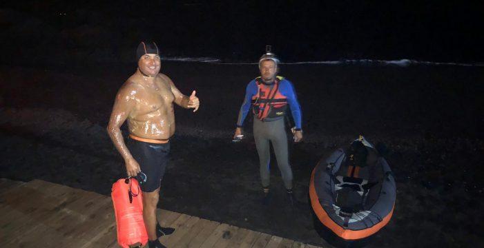 El reto: 90 kilómetros a nado hasta La Gomera