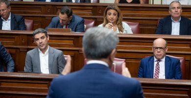 El Parlamento canario estrena voto delegado y el séptimo grupo