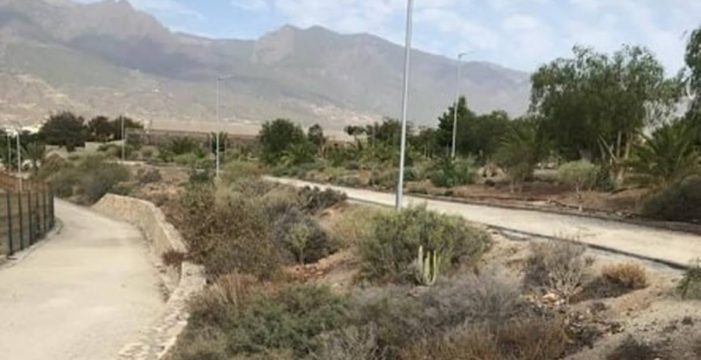 Los populares de Güímar denuncian el pésimo estado del parque de La Palmita