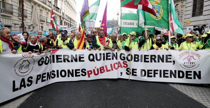 """""""¡El Pacto de Toledo, para empresarios y banqueros!"""""""