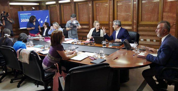 Los Presupuestos de Canarias para 2020 alcanzarán los 8.066 millones