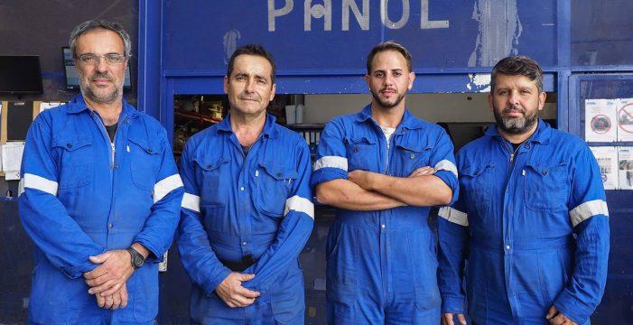 El pañol custodia, reparte, controla y repara todas las herramientas del astillero