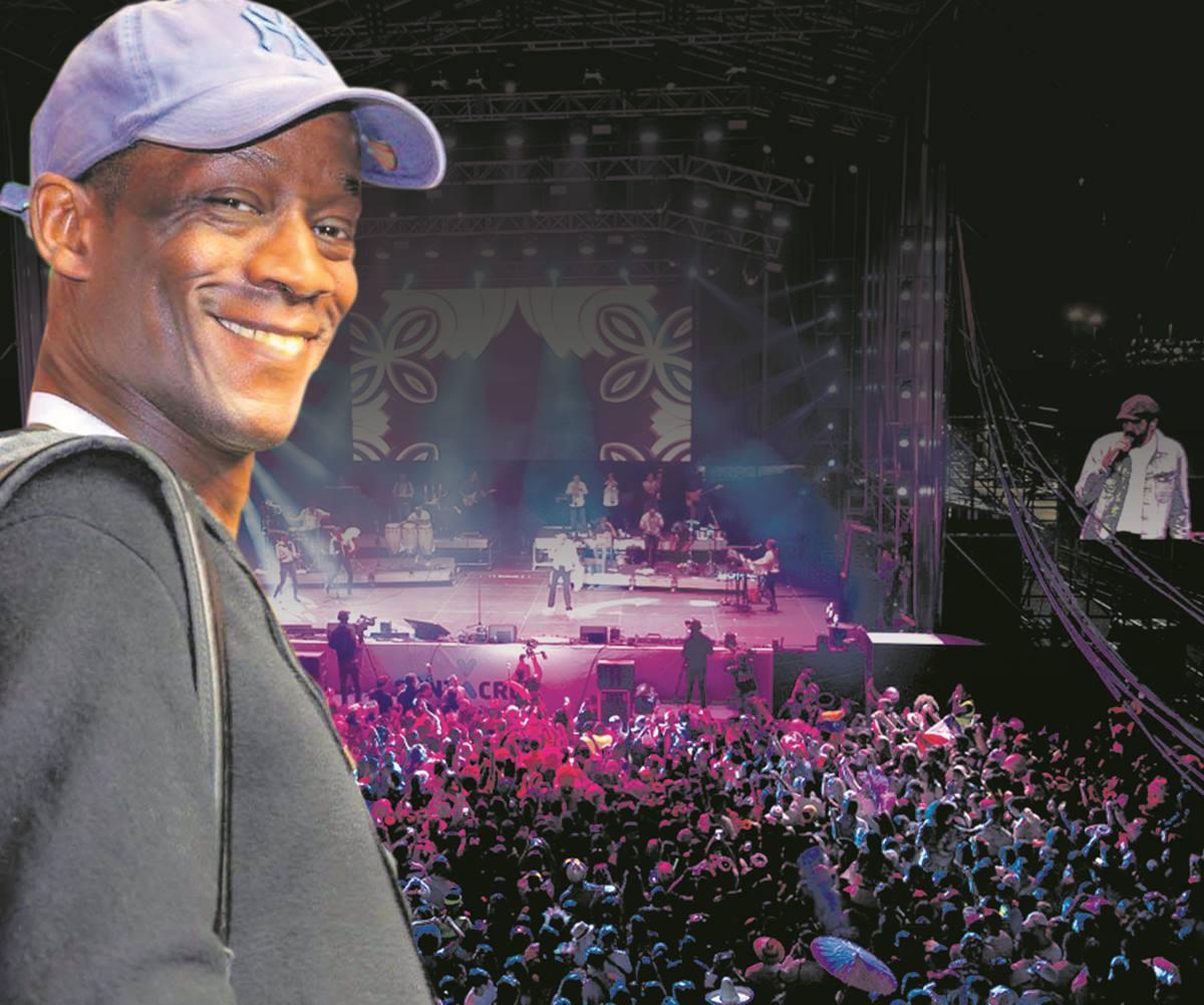 Alfredo Moré Silva, exbailarín del Tropicana, fue el particular al que el Ayuntamiento de Santa Cruz pagó los 500.000 euros que costó el concierto de Juan Luis Guerra en el Carnaval de Día.