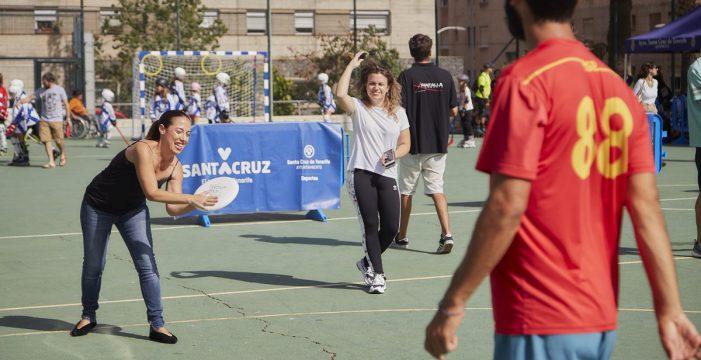 El Ayuntamiento de Santa Cruz celebra una nueva edición de BarrioSports mañana sábado en el Barrio del Perú