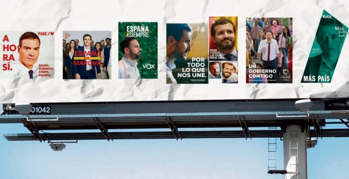 El antes y el después de los carteles electorales
