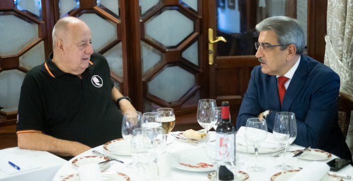 """Román Rodríguez: """"El nuevo pacto afectó mucho a Coalición Canaria, pero existe espacio para la unidad nacionalista"""""""